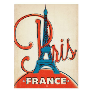Save the Date | Paris  - Eiffel Tower Postcard