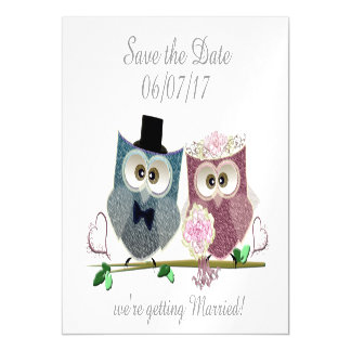 Save the Date, Personalise Wedding Magnetic Card Magnetic Invitations