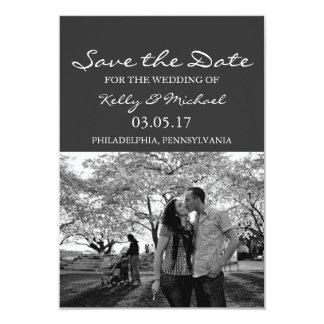 Save the Date - Photo 9 Cm X 13 Cm Invitation Card
