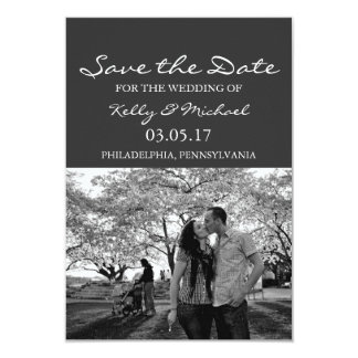 Save the Date - Photo Card