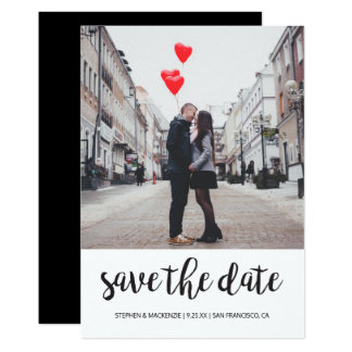Save The Date | Photo Card