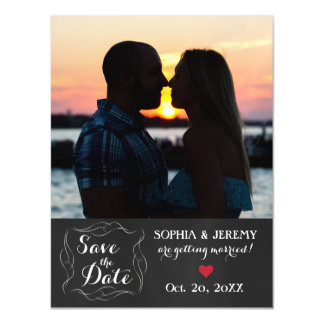 Save the Date Photo Magnet - 2