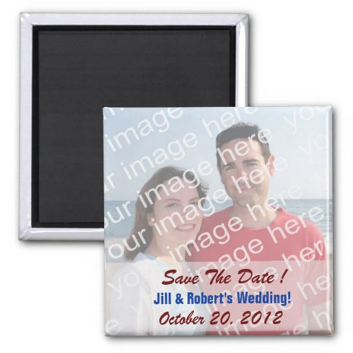 Save The Date! Photo Magnets
