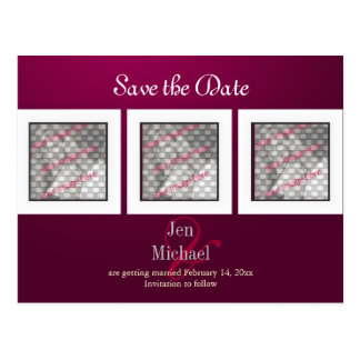 Save the Date Photos postcards, Postcard