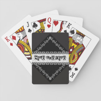 Save the date playing cards