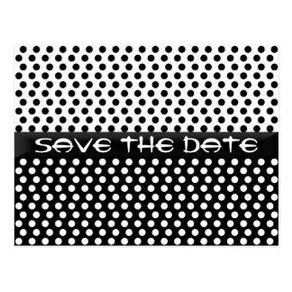 Save The Date Polka Dot Postcard