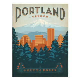 Save the Date | Portland, OR Postcard
