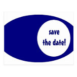 save the date! post card