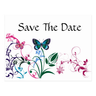 Save The Date Post Card Template