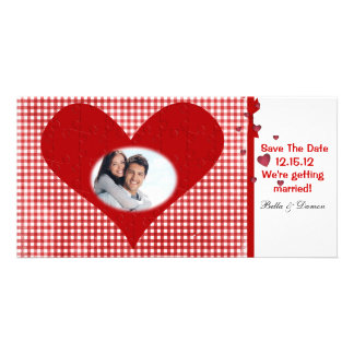 Save the Date Postcard Picture Card