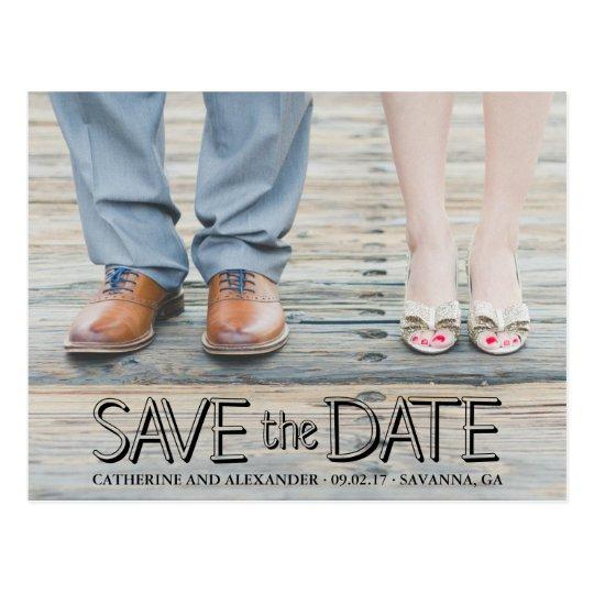 Save the Date Postcard | Photo Postcard