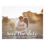 Save The Date Postcard Template 11.5 Cm X 14 Cm Flyer
