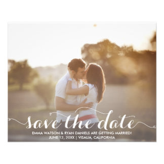 Save The Date Postcard Template Custom Flyer