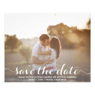 Save The Date Postcard Template Custom Flyer