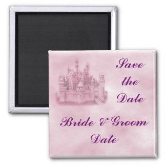 Save the Date Princess Wedding Magnets Fridge Magnet