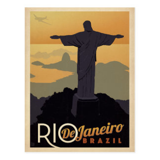 Save the Date | Rio De Janiero, Brazil Postcard