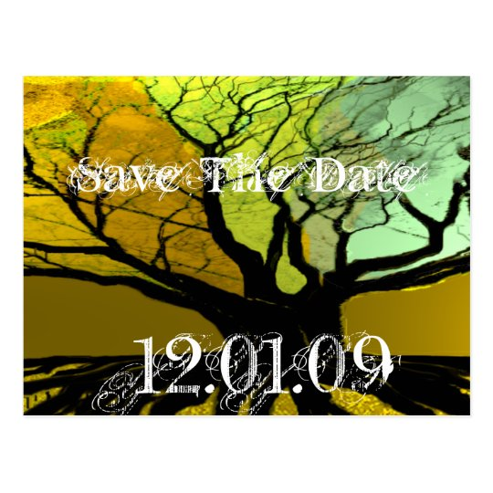 Save The Date - Roots Postcard