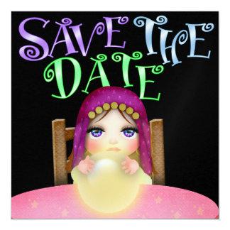"Save the Date - SRF 5.25"" Square Invitation Card"