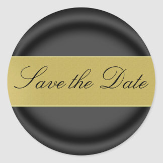Save the Date Sticker Seal