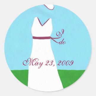 Wedding dress stickers