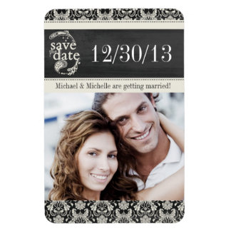 Save the Date Template Magnet