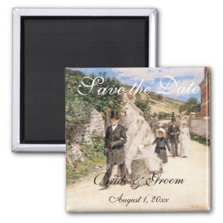 Save the Date The Wedding March by Robinson Fridge Magnets