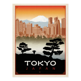 Save the Date | Tokyo, Japan Postcard