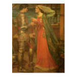 Save the Date! Tristan and Isolde by JW Waterhouse Post Card