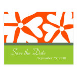 Save the Date - Tropical Wedding Postcard