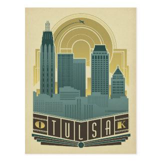 Save the Date | Tulsa, OK Postcard