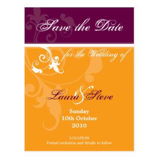 SAVE THE DATE :: verve 2 Postcard