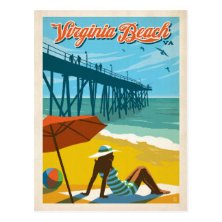 Save the Date | Virginia Beach, VA Postcard
