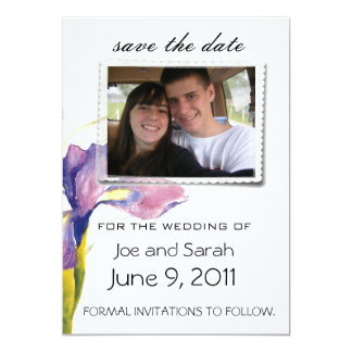 "save the date wedding invitations 5"" x 7"" invitation card"