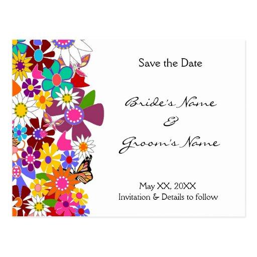 Save the Date - Wedding Postcard