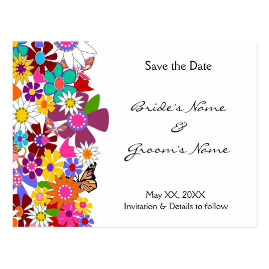 Save the Date - Wedding Postcard