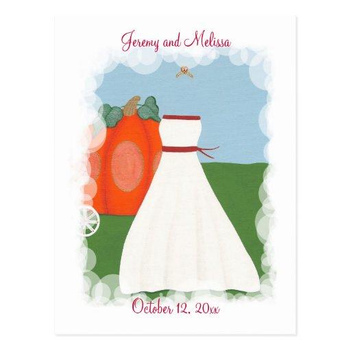 Save The Date Wedding Postcards, Princess Bride