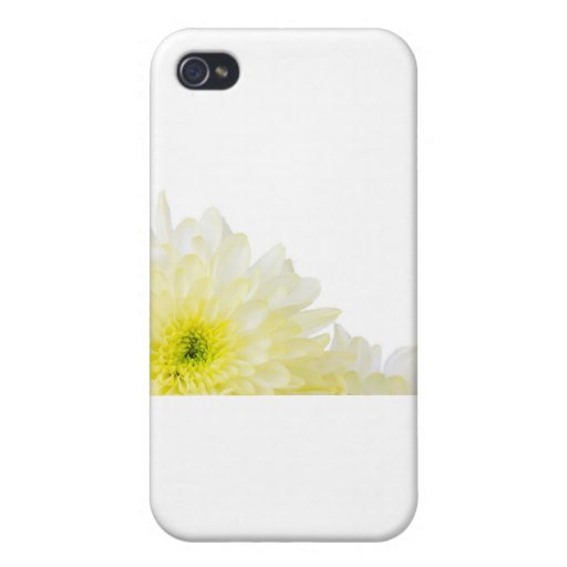 Save the Date yellow flower Cases For iPhone 4