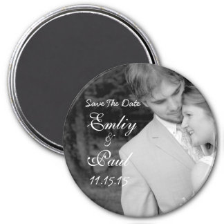 Save The Date-Your Photo Fridge Magnet