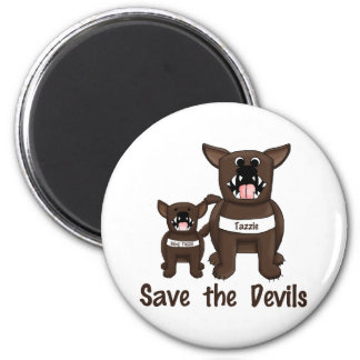 Save the Devils Fridge Magnet