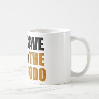 Save The Dodo Bird! Coffee Mug