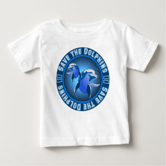 Save the Dolphins Baby T-Shirt