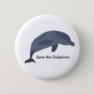 Save the Dolphins Button