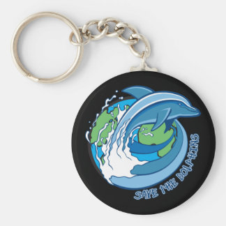 Save the Dolphins Key Ring