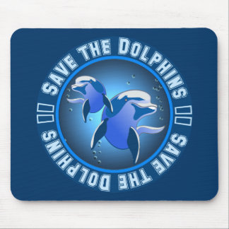 Save the Dolphins Mousemats