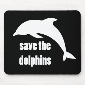 Save the Dolphins Mousepad