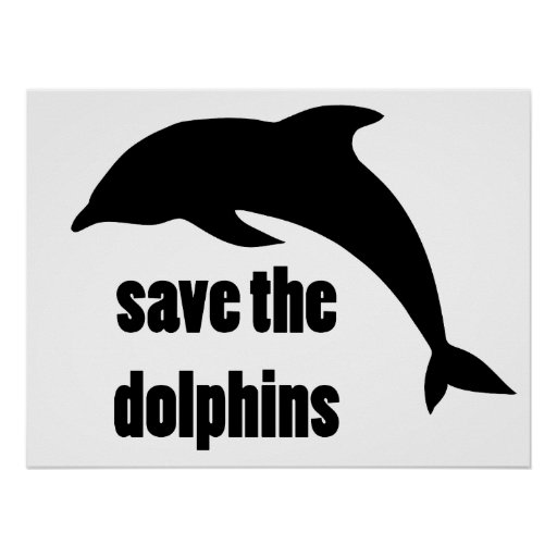 Save the Dolphins Posters