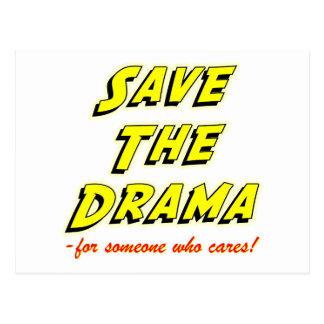 Save the Drama Breakup Card