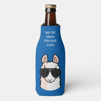 Save the Drama for Your Llama Bottle Cooler