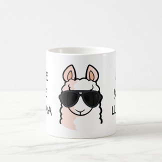 Save the Drama for Your Llama Coffee Mug