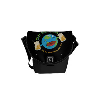 Save The Earth Courier Bag